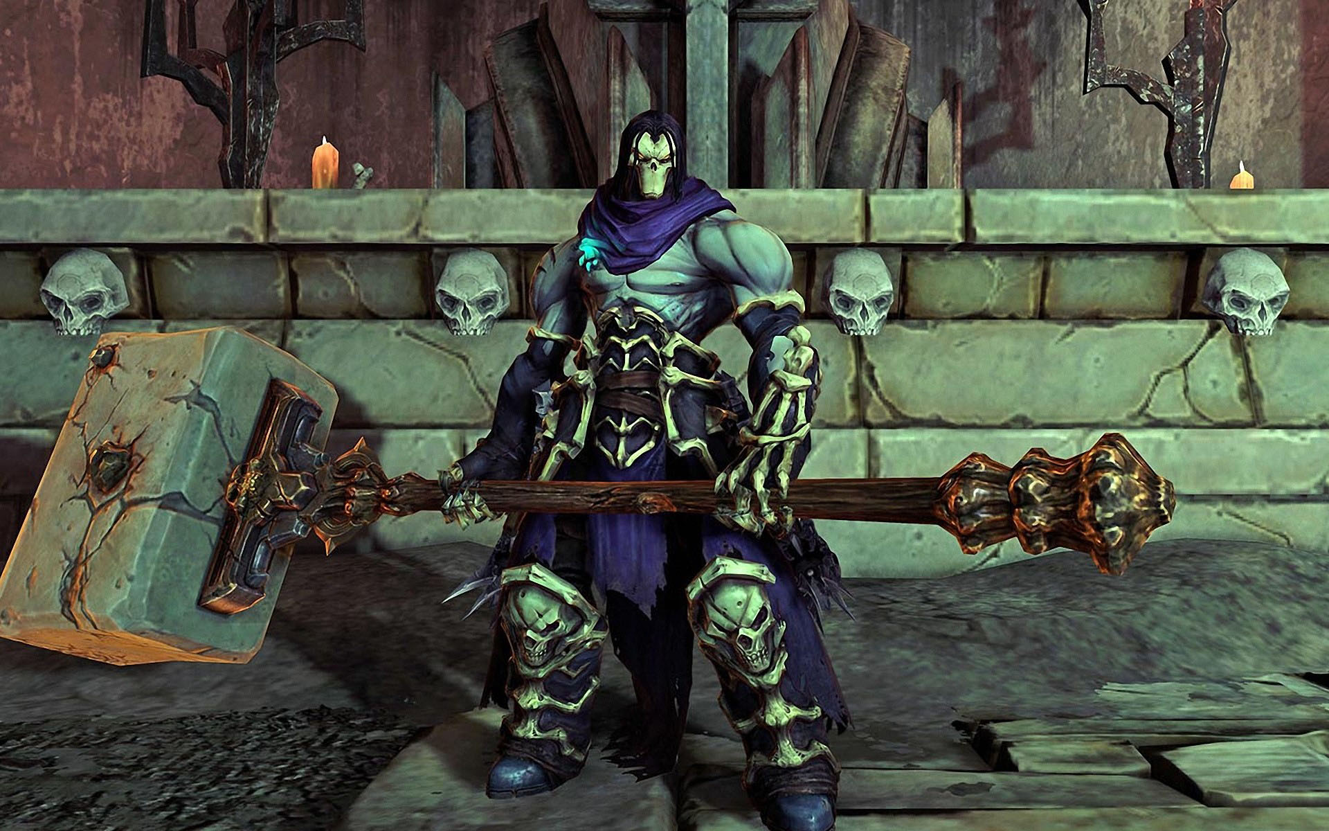 How to run Darksiders 2 on a very weak 2000 PC 69