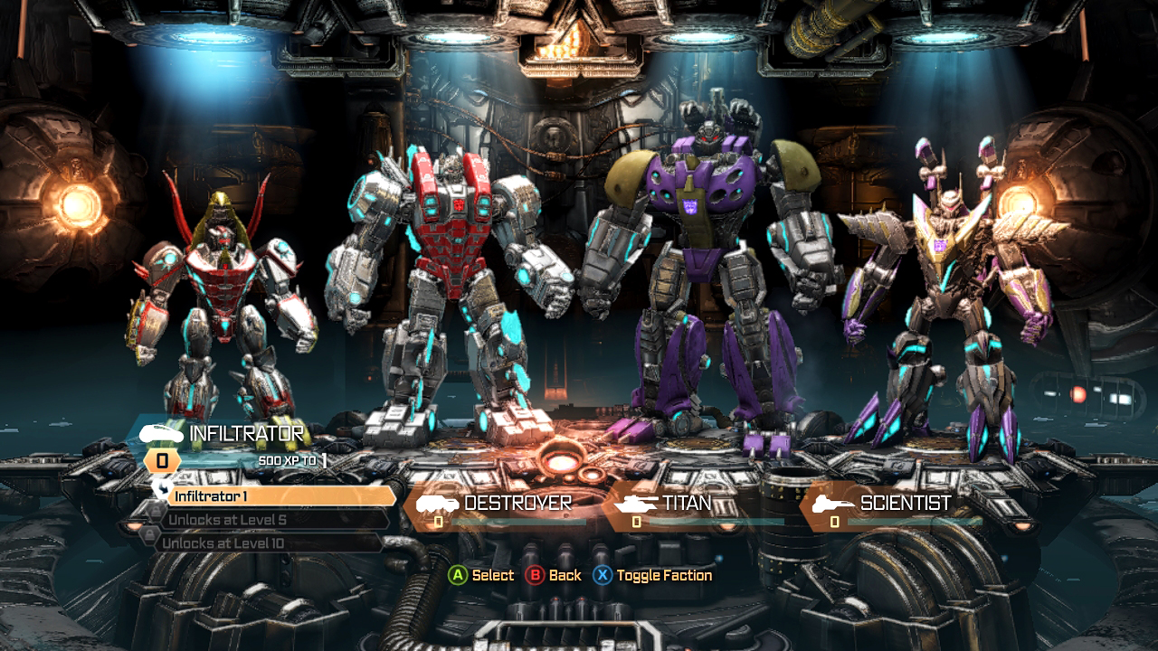 massive fury dlc hits transformers fall of cybertron review xbla