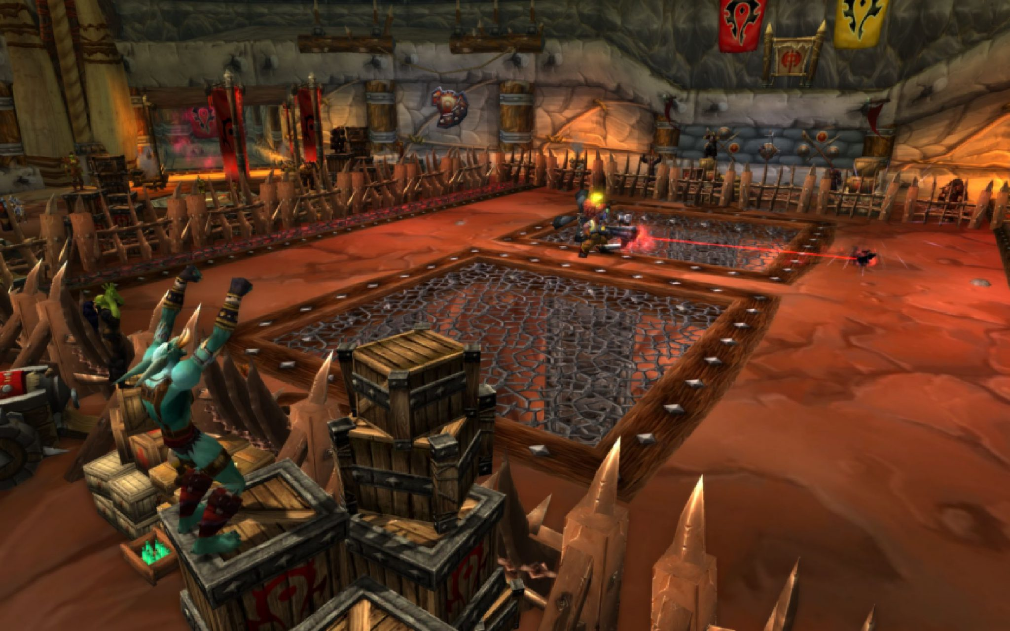 World of warcraft 5. 1 patch notes: alliance-horde conflict heats.