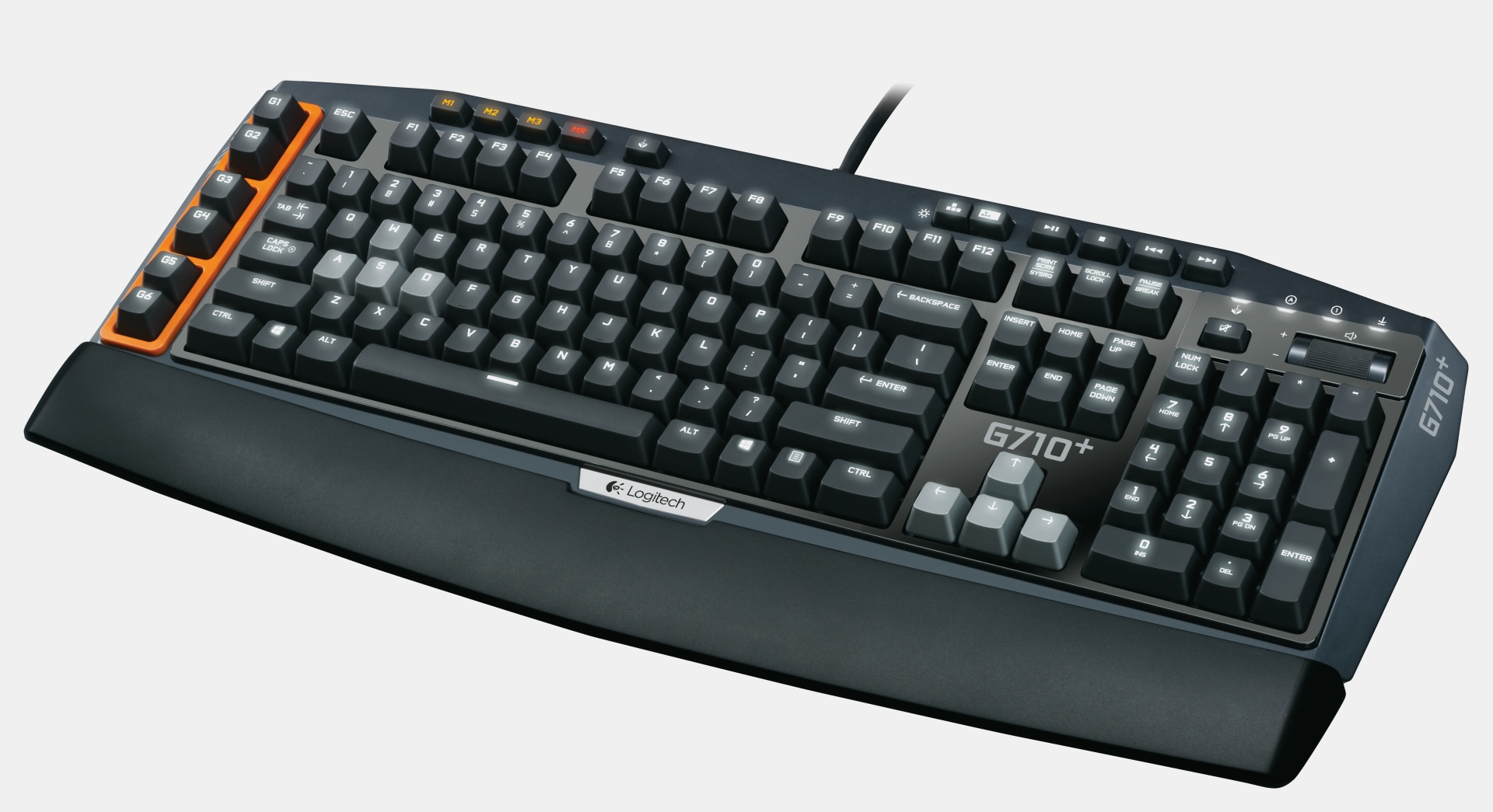 how to clean a logitech g710+