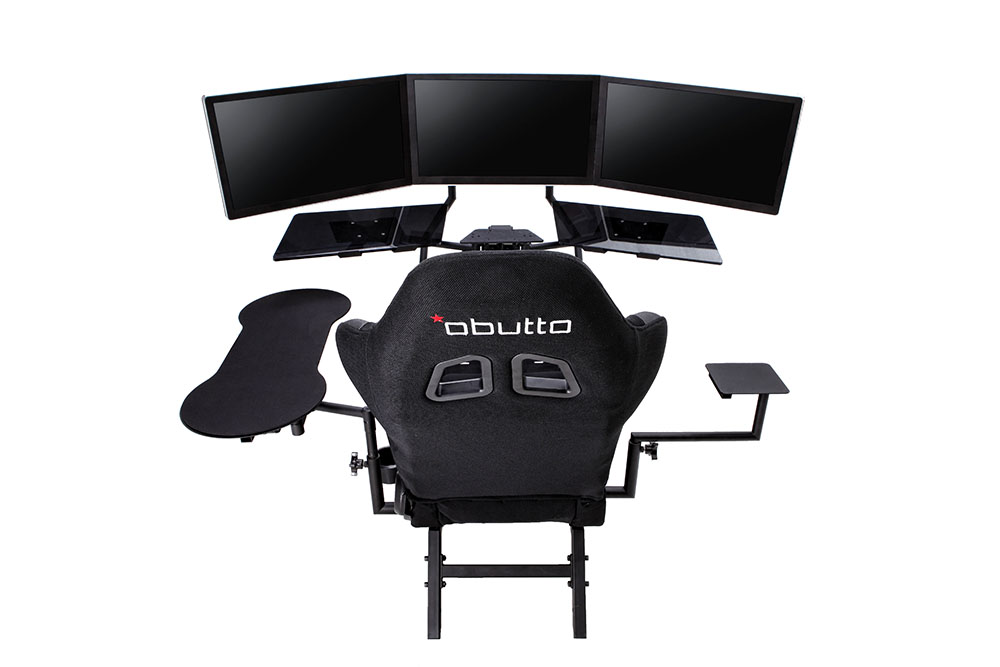 obutto r3volution gaming cockpit review gamingshogun. Black Bedroom Furniture Sets. Home Design Ideas