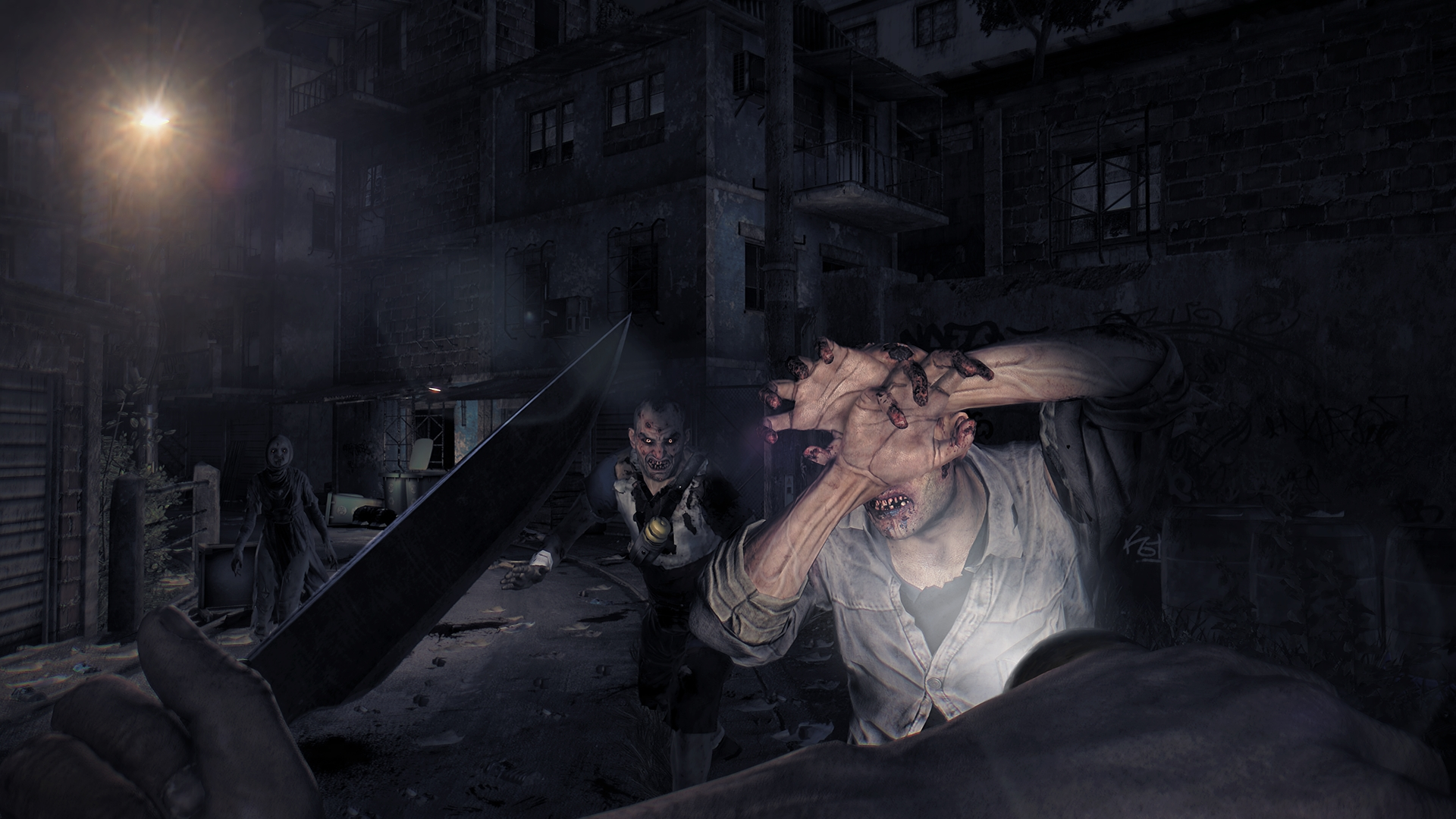 Dying Light Night Time Gameplay Trailer