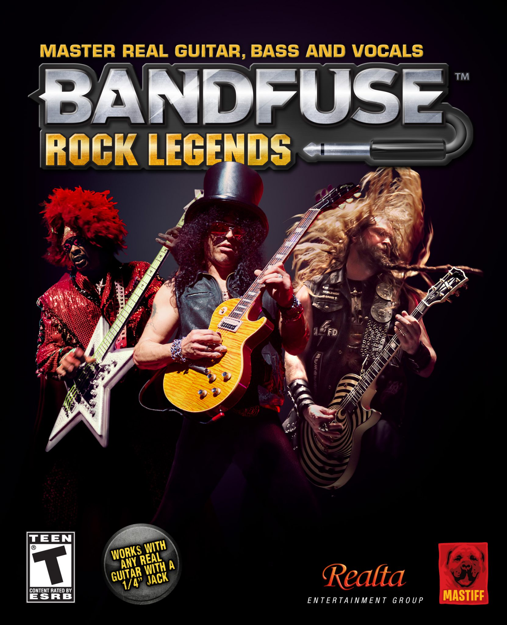 BandFuse: Rock Legends Box Art Unveiled | GamingShogun on
