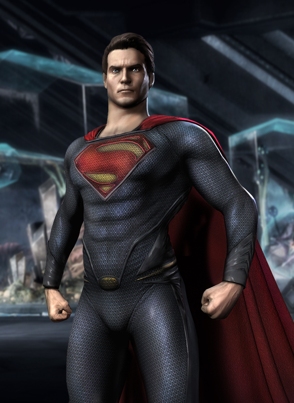 Man of Steel Superman Coming to Injustice: Gods Among Us