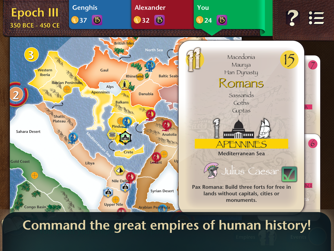 A brief history of the world review ios gamingshogun a brief history of the world review ios gumiabroncs Choice Image