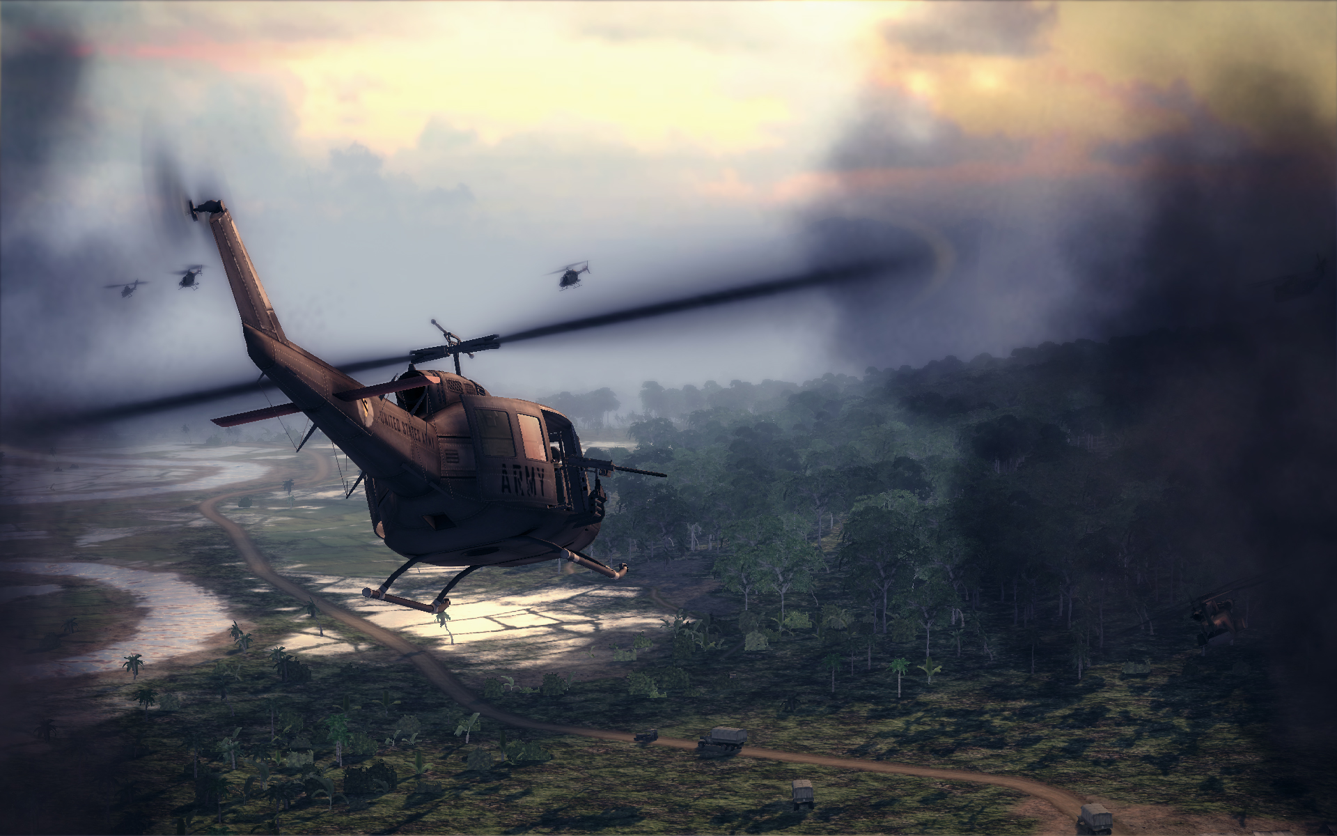 Huey Helicopter For Sale >> Air Conflicts: Vietnam Helicopter Info and Screenshots | GamingShogun