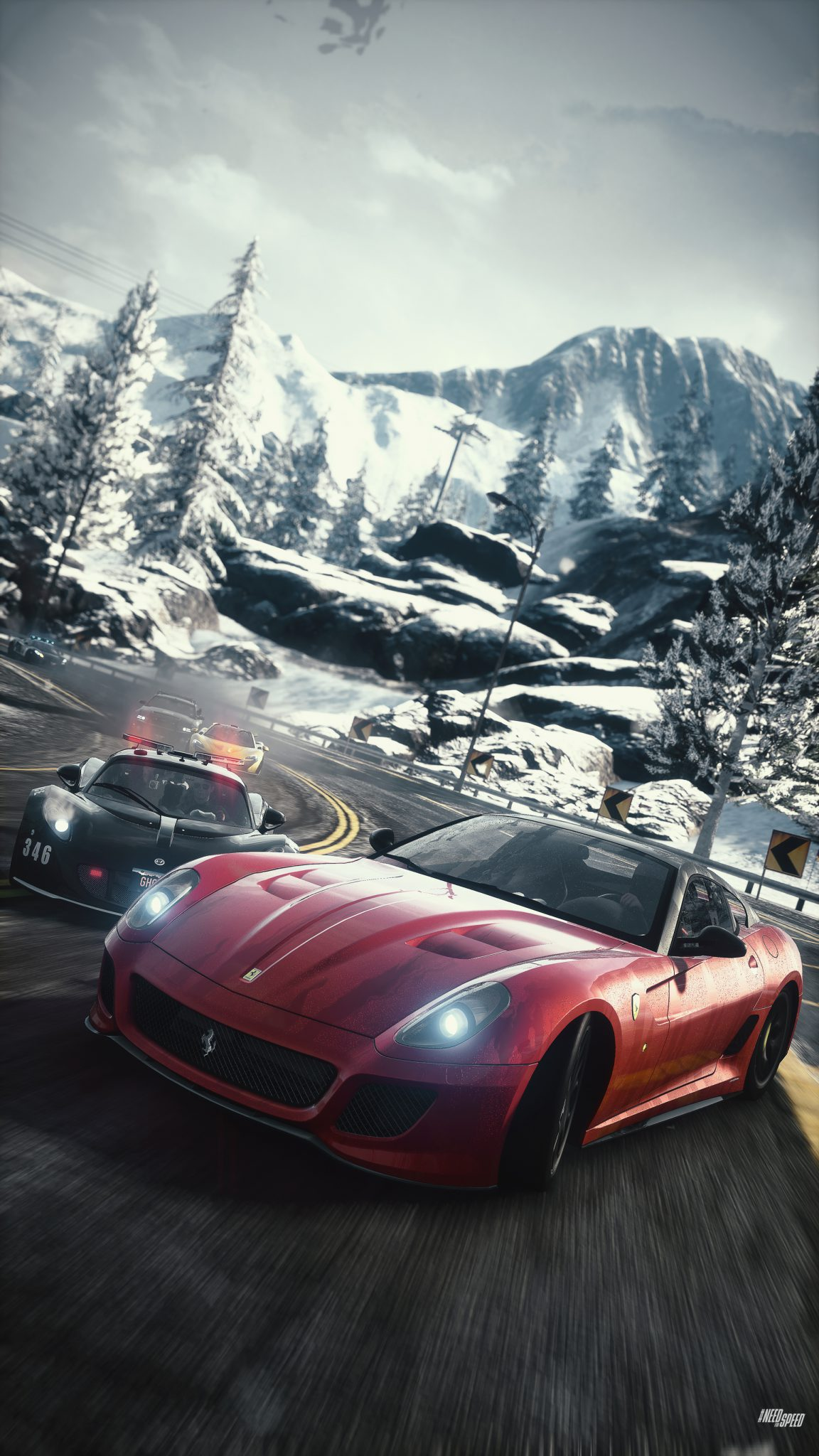 need for speed rivals now a ps4 launch title gamingshogun. Black Bedroom Furniture Sets. Home Design Ideas