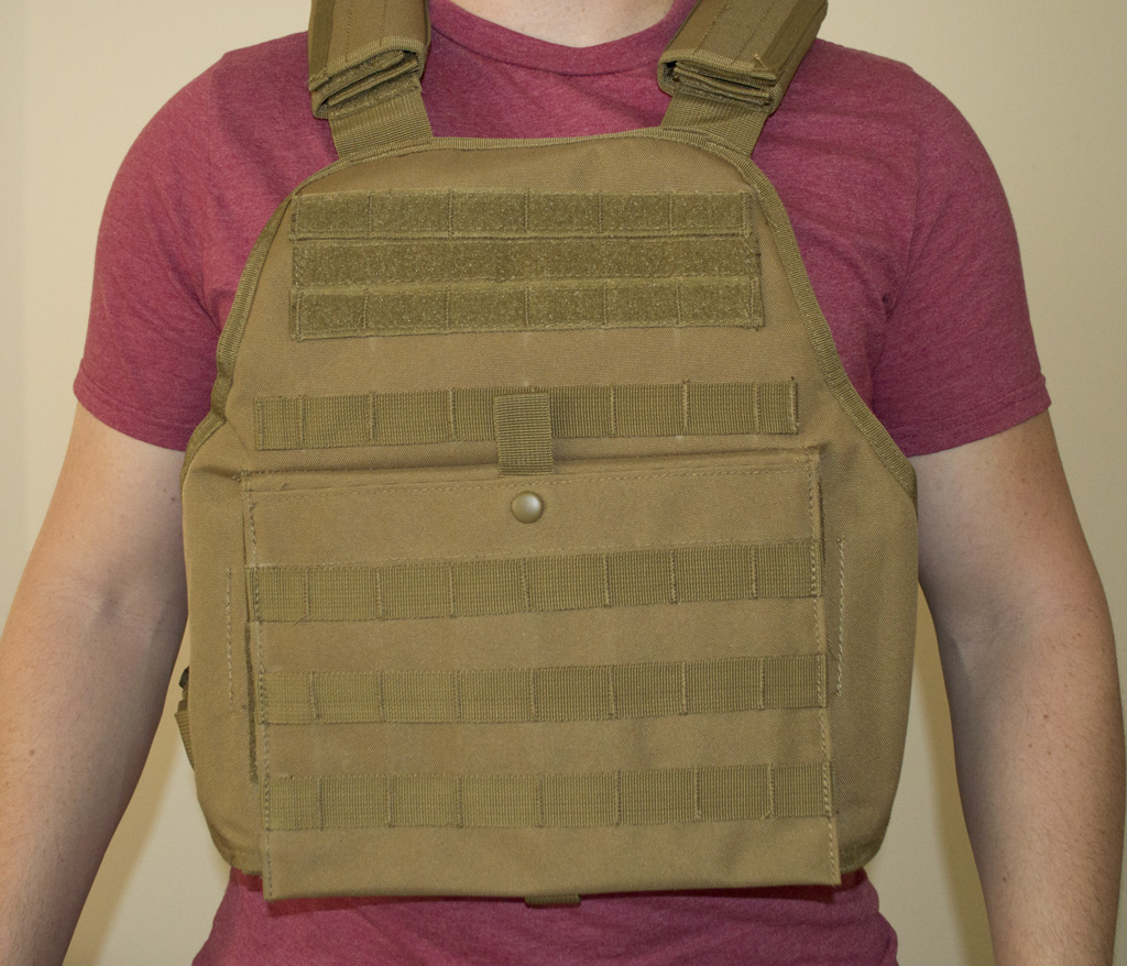 Rothco Molle Plate Carrier Vest Review Airsoft