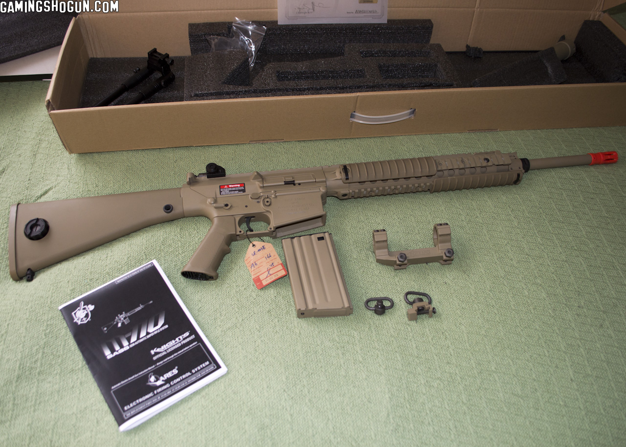 M110 Sniper Rifle Airsoft ARES Knight'...