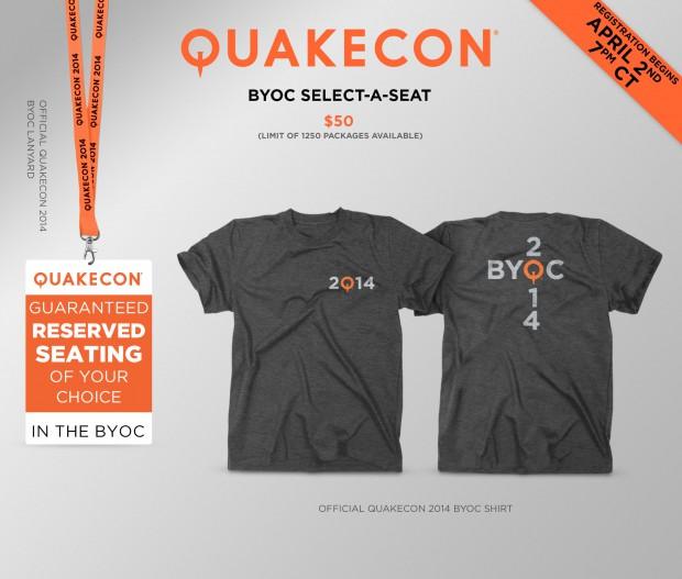 BYOC Select A Seat