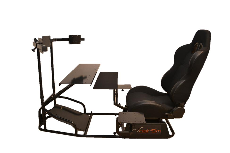 Volair Sim Flight Racing Cockpit Review Gamingshogun