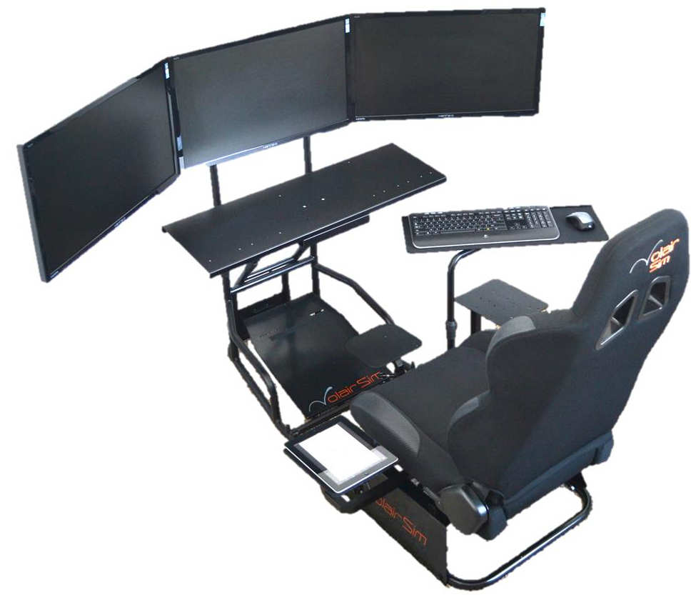 Volair Sim Flight Racing Cockpit Review Gamingshogun