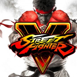 Capcom Street Fighter V logo art
