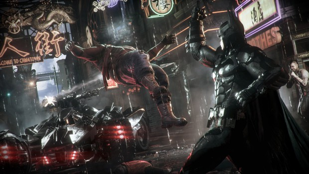 Batman Arkham Knight Gamescom Screenshot