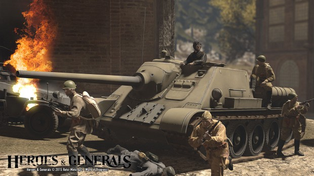 heroes-and-generals-SU-85-Wreckage-1920px
