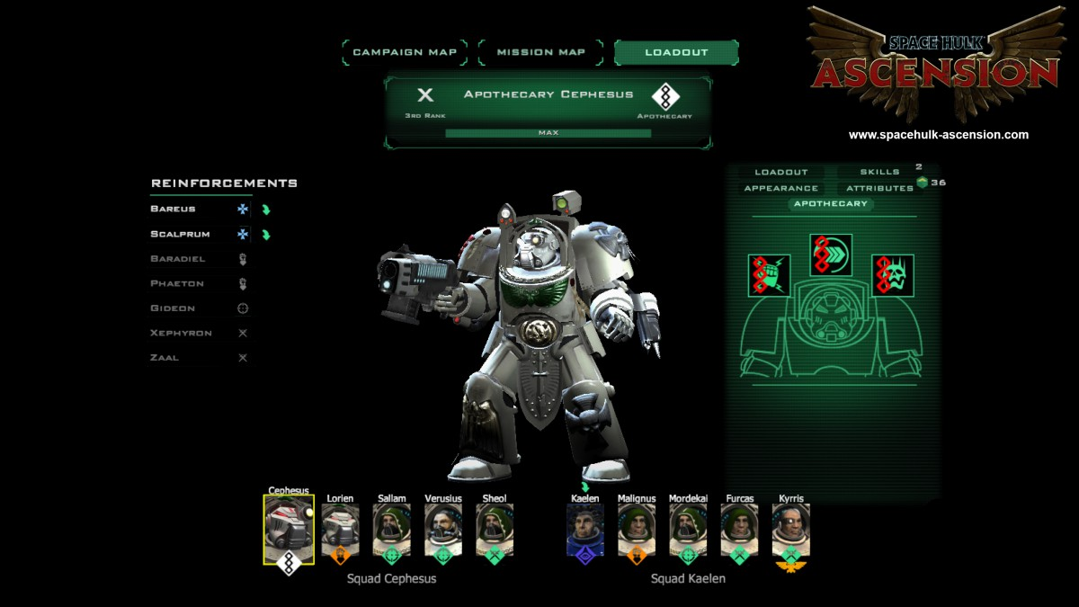 Space Hulk: Ascension - Dark Angels Chapter 2015 pc game Img-2
