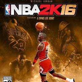 2K Sports NBA 2K16 Basketball Box Art Xbox One