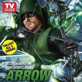 Warner Bros. Comic-Con TV Guide Cover - Arrow