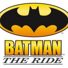 Six Flags Batman the Ride Logo