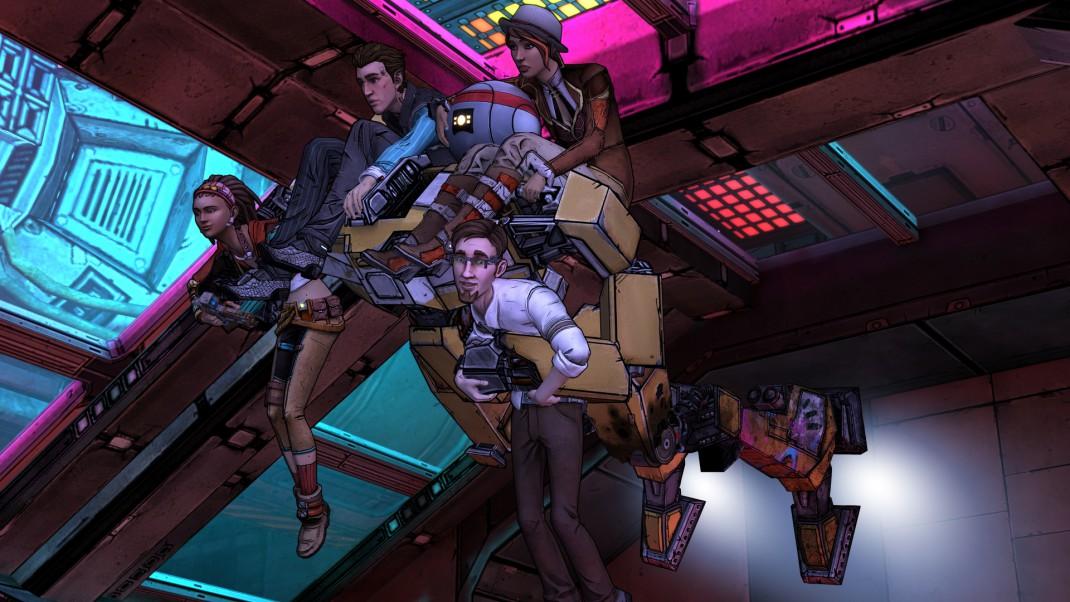 Telltale Games Tales From the Borderlands Screenshot