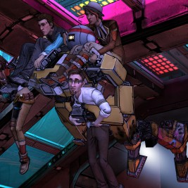 Telltale Games Tales From the Borderlands Screenshot