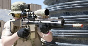 WE Tech SCAR-H SSR Airsoft Rifle