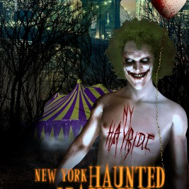 NY Haunted Hayride promo poster