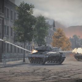 World of Tanks Xbox One launch screenshot