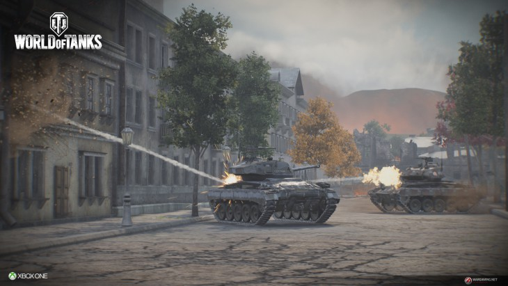 World of Tanks Xbox One launch screenshot