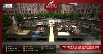 Assassin's Creed Experience 2015 at Comic-Con
