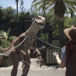 Universal Studios Hollywood Raptor Encounter Image