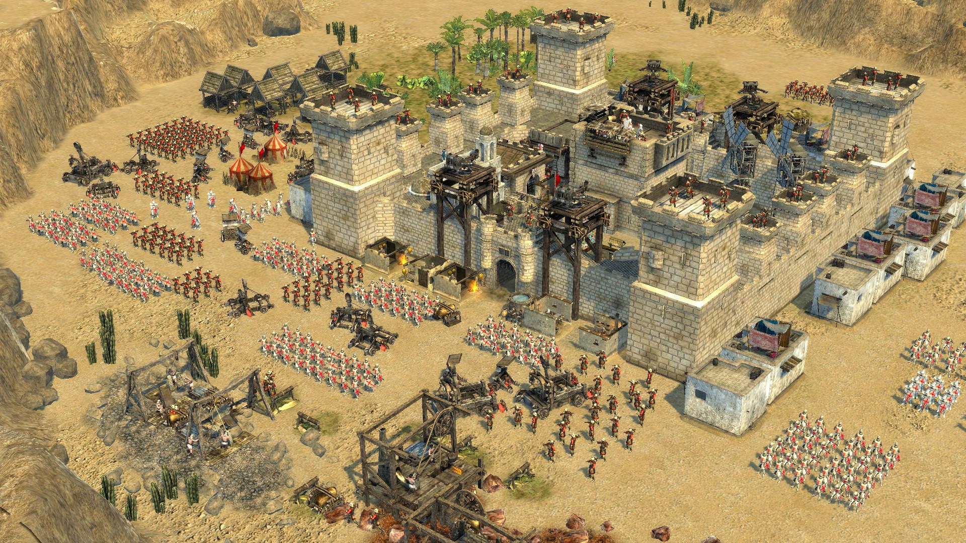 stronghold crusader hd bonus characters