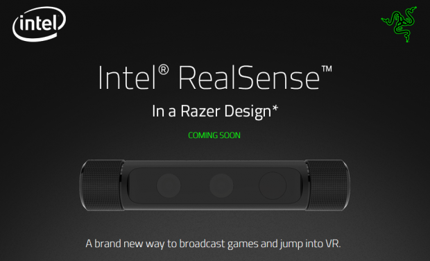 Razer Intel RealSense Announcement image