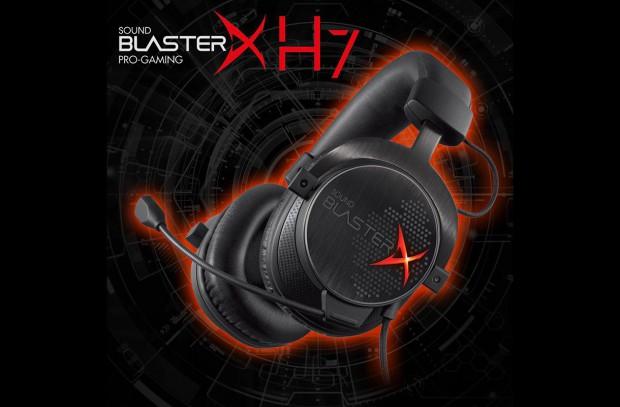 Creative Labs Sound BlasterX Product Line Announcement Image