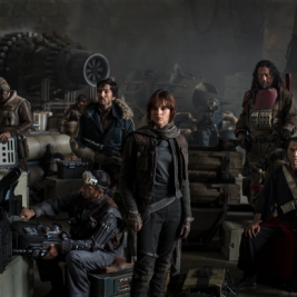 Star Wars: Rogue One cast photo