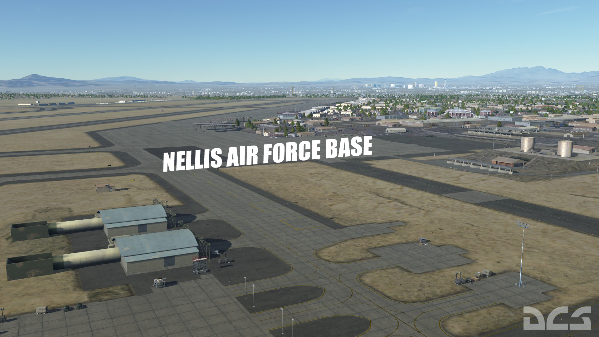 Nevada Test And Training Range Map For Dcs World Pre Order