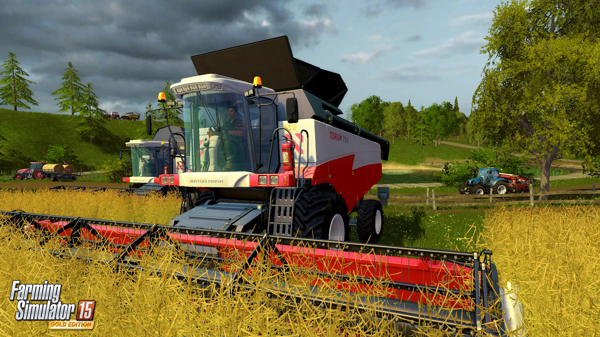 Farming Simulator 15 GOLD New Screenshots and Details