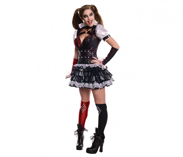 Rubies Batman Arkham Knight Harley Quinn Deluxe Costume Deluxe Adult Costume