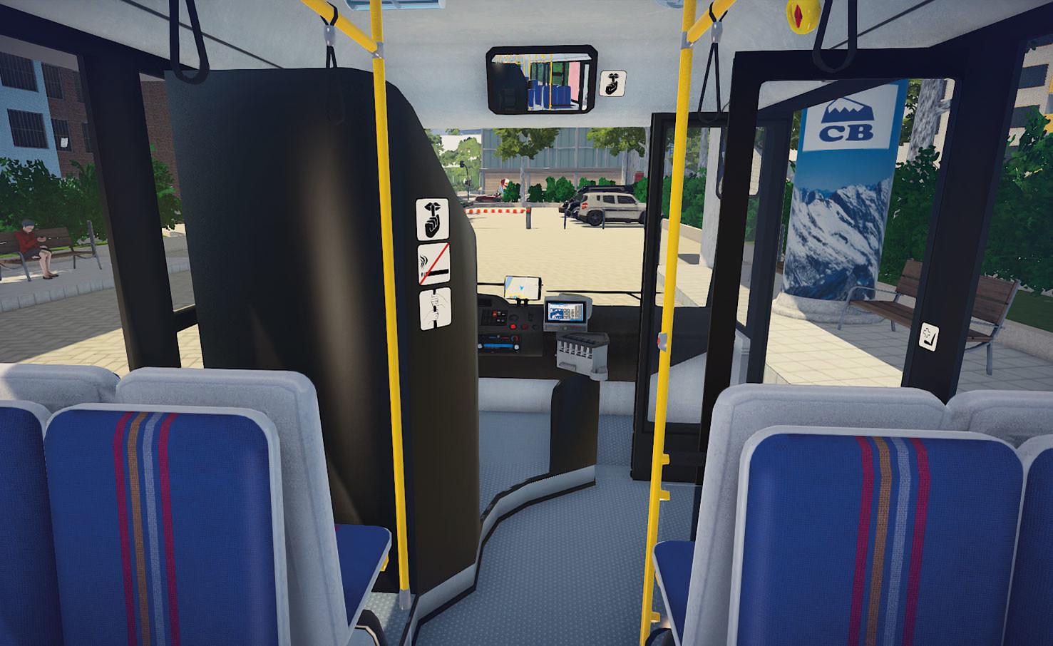 bus simulator 16 release date and trailer gamingshogun. Black Bedroom Furniture Sets. Home Design Ideas
