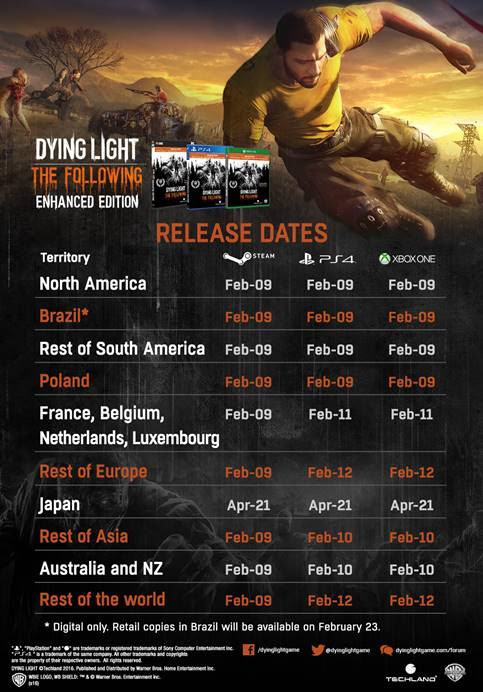 dying-light-the-following-release-dates