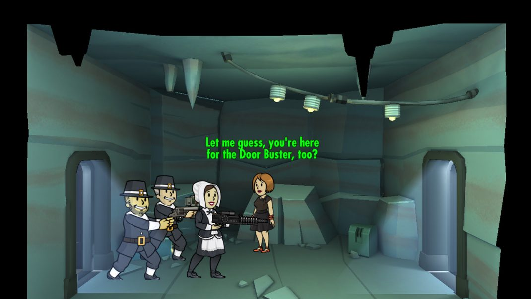 fallout shelter update 19 brings new quests and thanksgiving celebrations gamingshogun