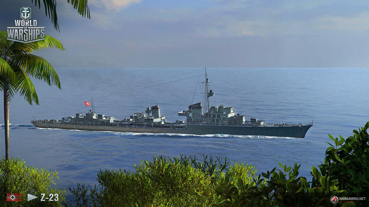 New German Destroyers Sail into World of Warships   GamingShogun