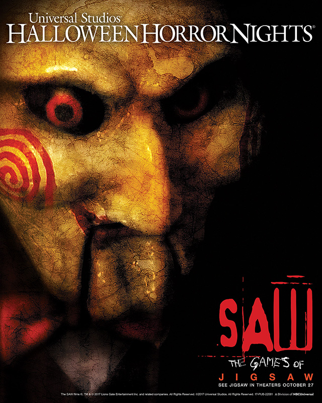 SAW: The Games of Jigsaw Coming to Halloween Horror Nights