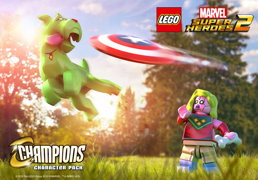 Lego Marvel Super Heroes 2 Champions Dlc Character Pack Unveiled