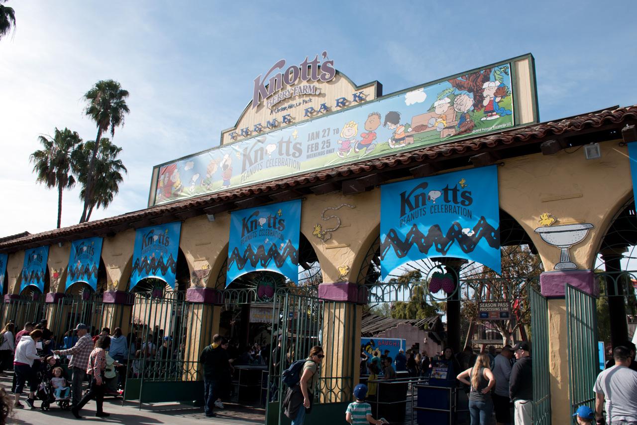 Knott S Berry Farm Peanuts Celebration 2018 Review