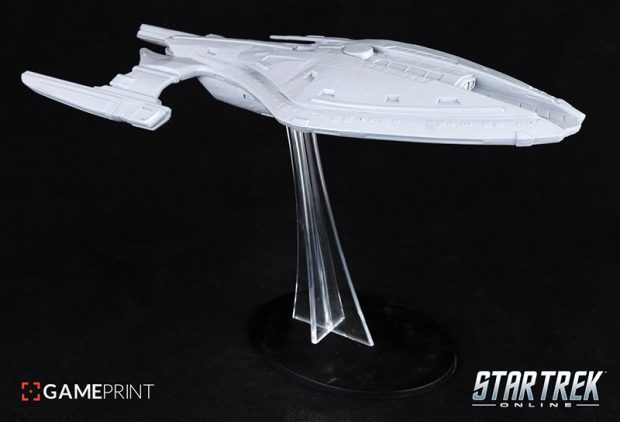 Star Trek Online Announced 3D-Printed Starships for Sale in