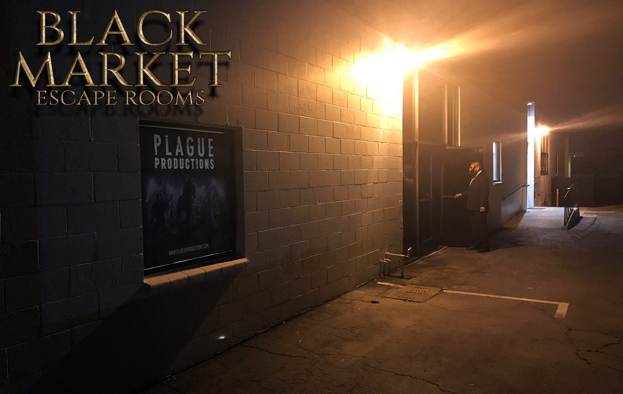 Black Market Escape Rooms MURDERCO