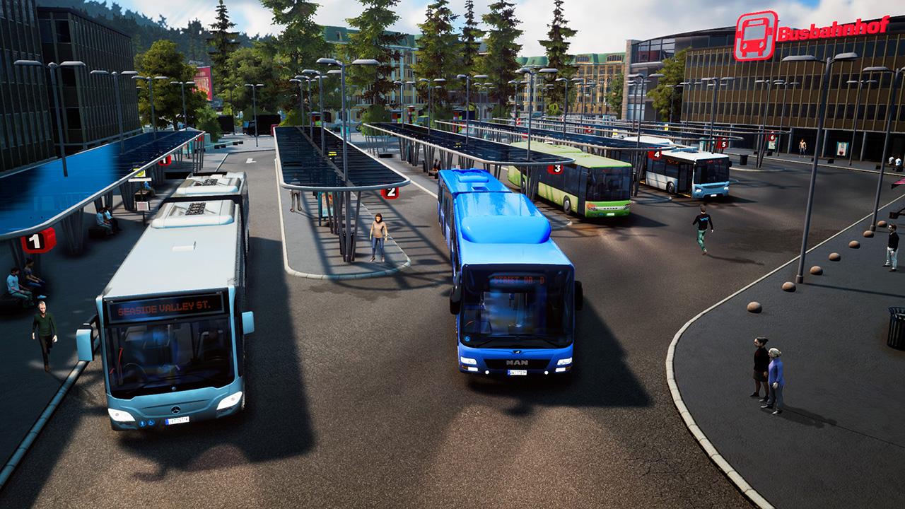 bus simulator 18 teaser trailer gamingshogun. Black Bedroom Furniture Sets. Home Design Ideas