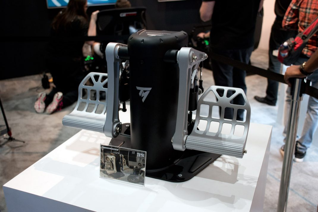 Thrustmaster to Demo TPR Rudder Pedals at Upcoming Air Shows