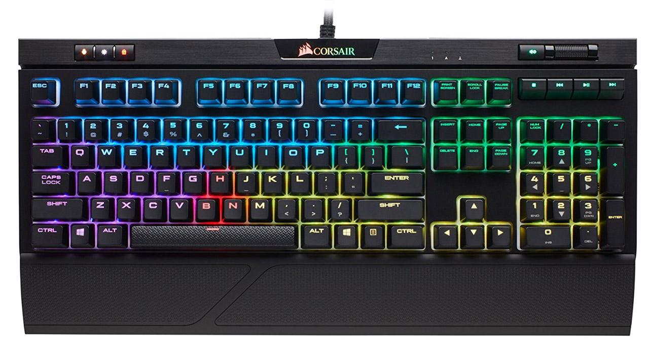 Corsair K70 RGB Mk.2 and Strafe RGB Mk.2 Keyboards